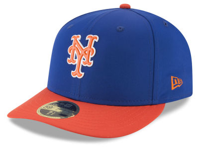 New York Mets New Era MLB Batting Practice Prolight Low Profile 59FIFTY Cap