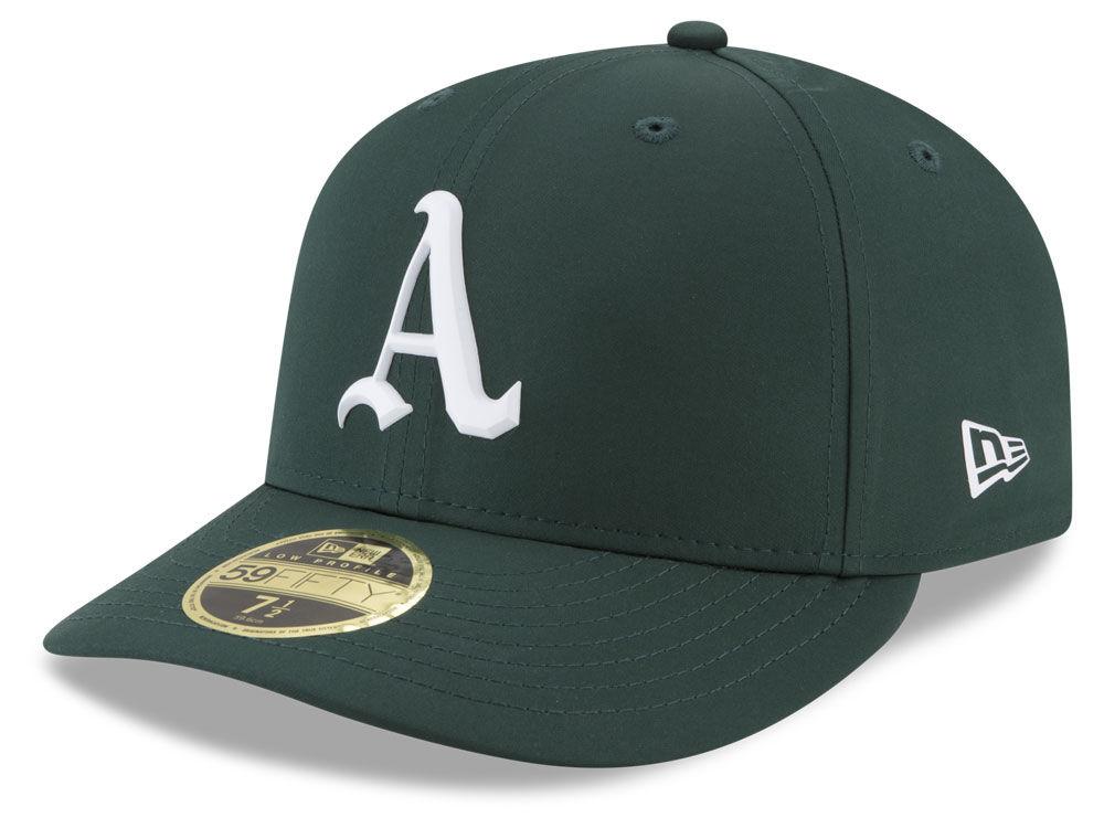 292e76978644e Oakland Athletics New Era MLB Batting Practice Prolight Low Profile 59FIFTY  Cap
