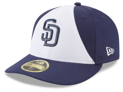 San Diego Padres New Era MLB Batting Practice Prolight Low Profile 59FIFTY Cap