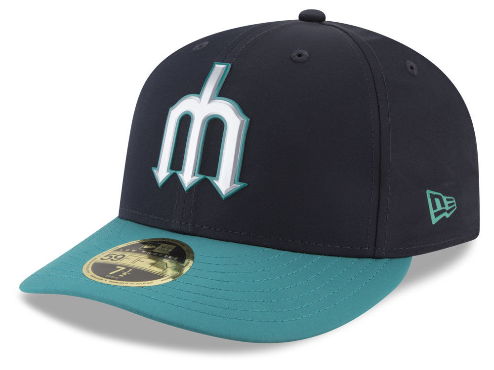 Seattle Mariners New Era MLB Batting Practice Prolight Low Profile 59FIFTY  Cap  e535c6bdf6c9