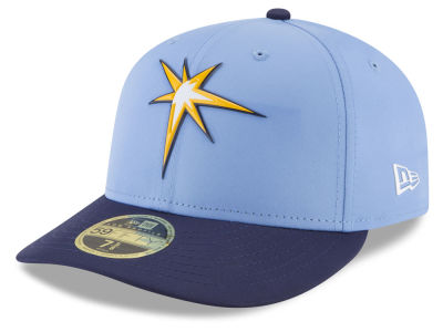 Tampa Bay Rays New Era MLB Batting Practice Prolight Low Profile 59FIFTY Cap