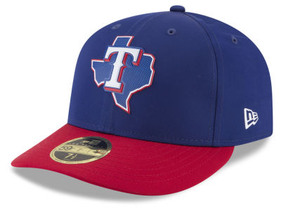 Texas Rangers New Era MLB Batting Practice Prolight Low Profile 59FIFTY Cap
