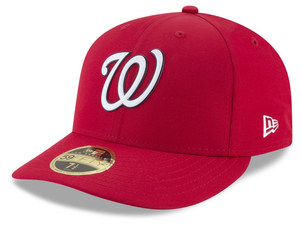 Washington Nationals New Era MLB Batting Practice Prolight Low Profile  59FIFTY Cap  e43c2d5f47ce