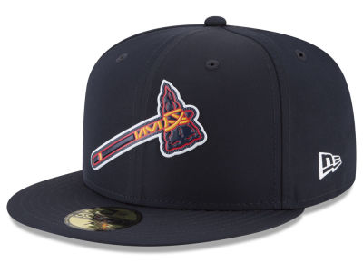 Atlanta Braves New Era MLB Batting Practice Prolight 59FIFTY Cap