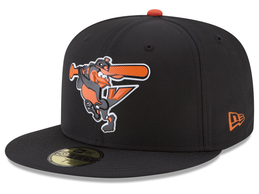 76ce68d51e2 Baltimore Orioles New Era MLB Batting Practice Prolight 59FIFTY Cap ...