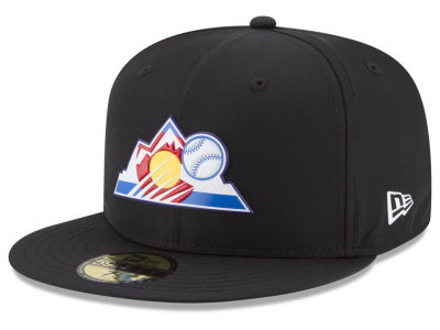 Colorado Rockies New Era MLB Batting Practice Prolight 59FIFTY Cap