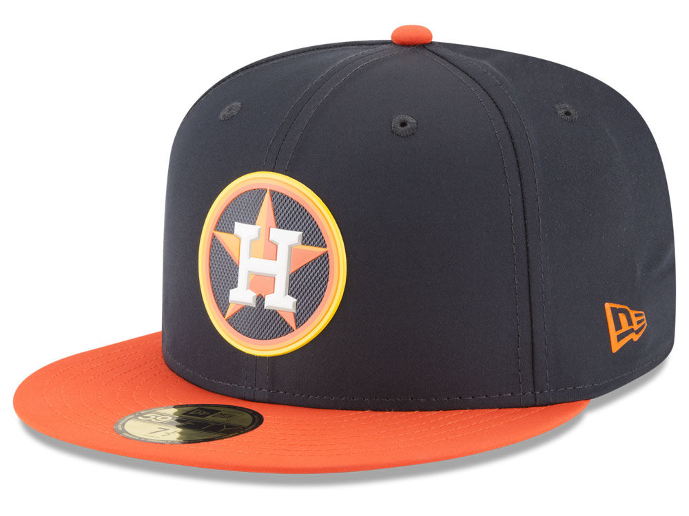 41c6cf92e2f Houston Astros New Era MLB Batting Practice Prolight 59FIFTY Cap ...