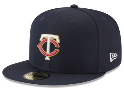 Minnesota Twins New Era MLB Batting Practice Prolight 59FIFTY Cap
