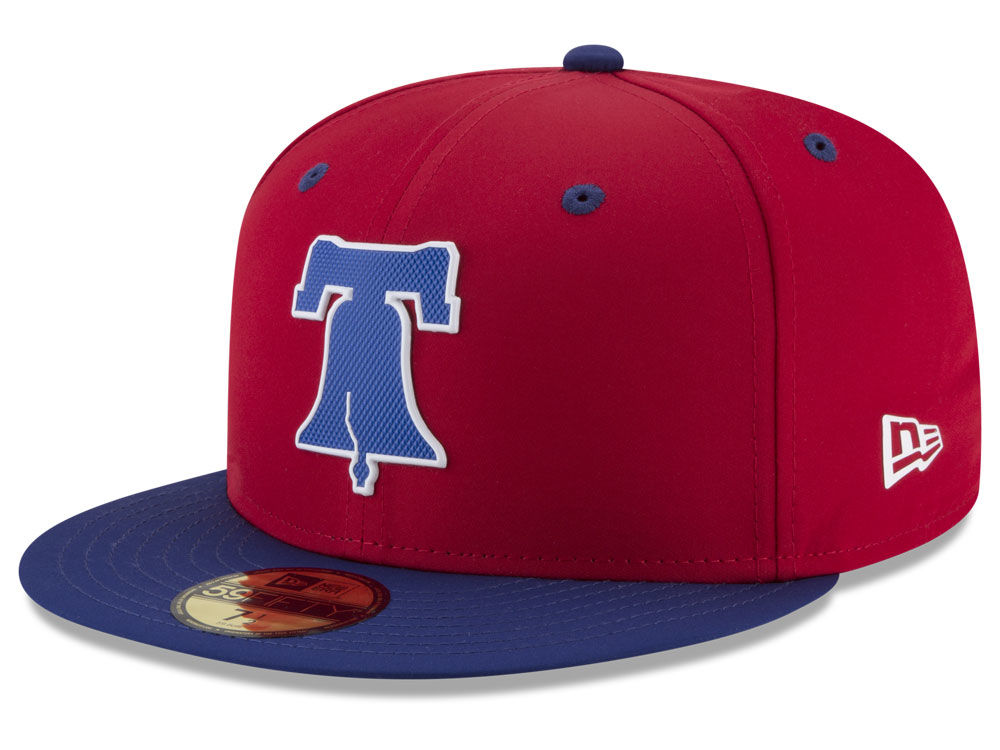 193c6552b98 Philadelphia Phillies New Era MLB Batting Practice Prolight 59FIFTY Cap