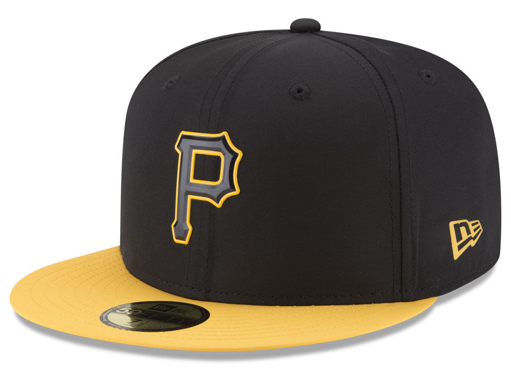 Pittsburgh Pirates New Era MLB Batting Practice Prolight 59FIFTY Cap ... 66a23b39fe14