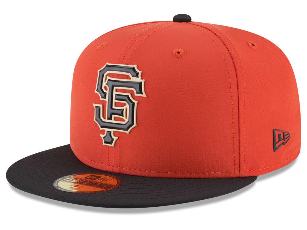 San Francisco Giants New Era MLB Batting Practice Prolight 59FIFTY Cap  bc1ef6a2998