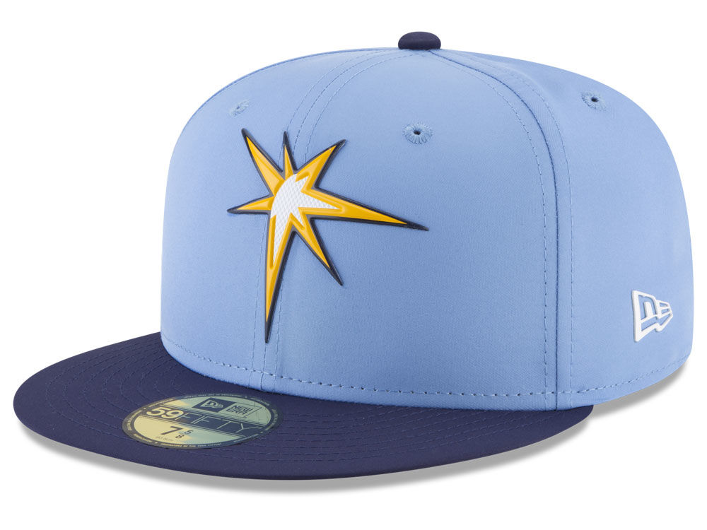 finest selection 403ad 99679 ... promo code for tampa bay rays new era mlb batting practice prolight  59fifty cap 69d7a cda4e