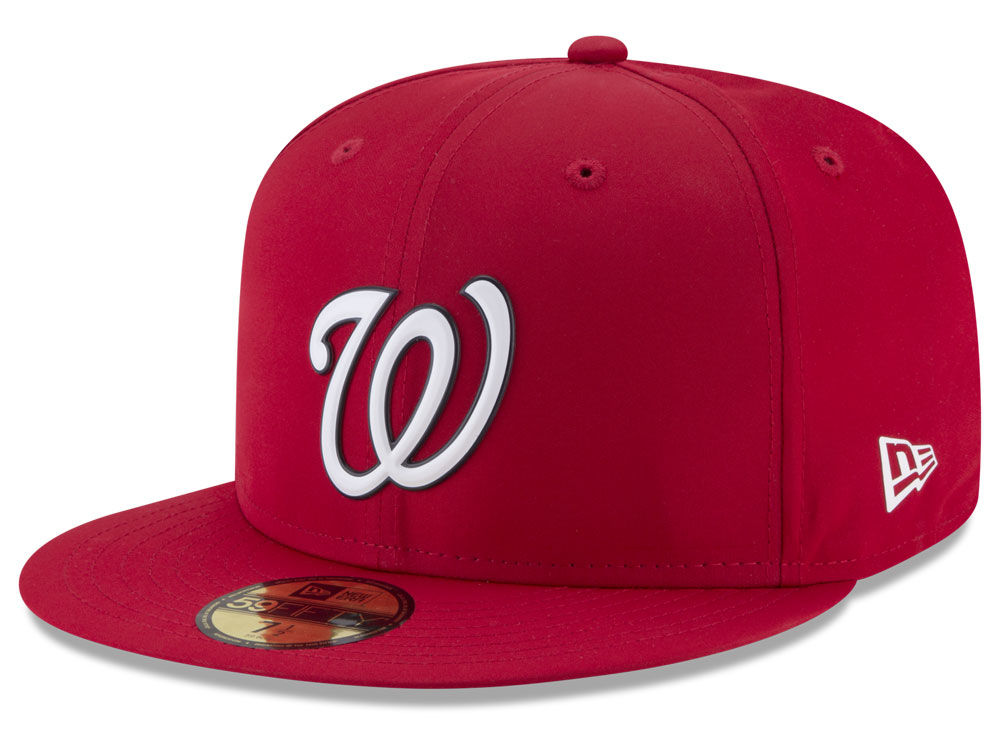 Washington Nationals New Era MLB Batting Practice Prolight 59FIFTY Cap  dc0acd6e8a8