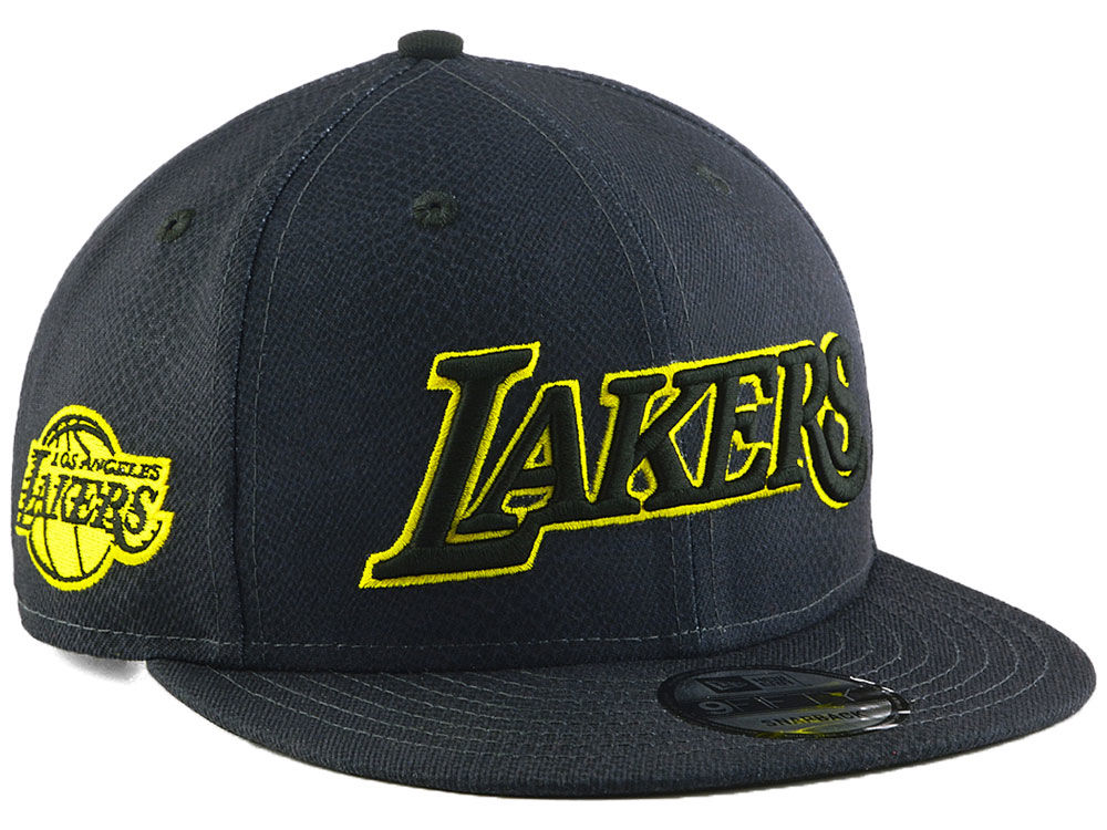 Los Angeles Lakers New Era NBA City Series 9FIFTY Snapback Cap ... ef11aa71dfaf