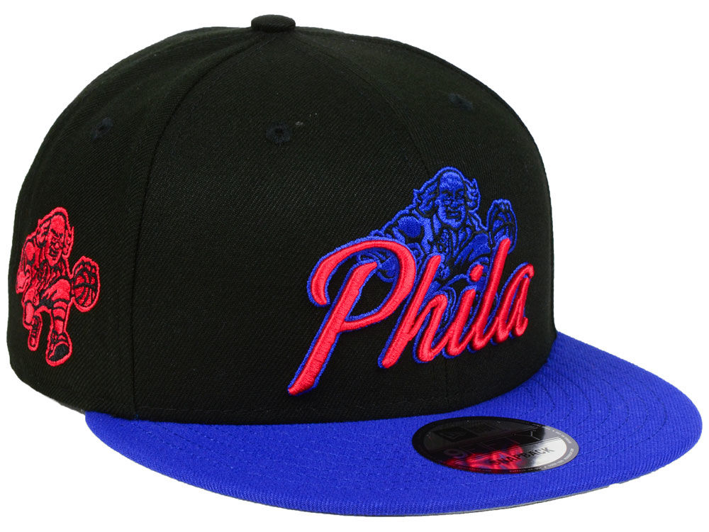 8a2a3016036 Philadelphia 76ers New Era NBA City Series 9FIFTY Snapback Cap ...