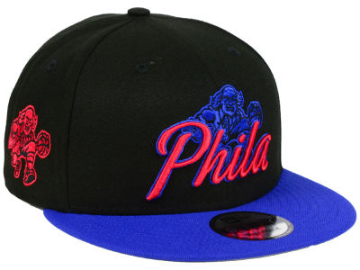 Philadelphia 76ers New Era NBA City Series 9FIFTY Snapback Cap