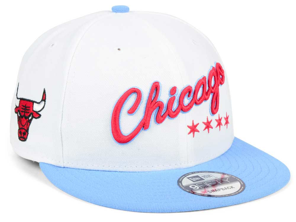 1564d75d73d Chicago Bulls New Era NBA City Series 9FIFTY Snapback Cap