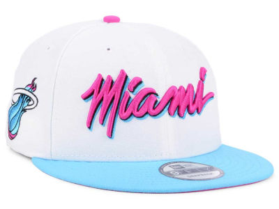 Miami Heat New Era NBA City Series 9FIFTY Snapback Cap