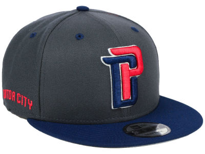 Detroit Pistons New Era NBA City Series 9FIFTY Snapback Cap