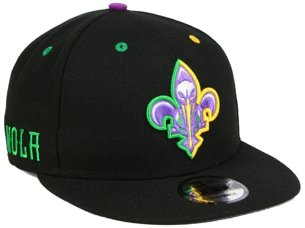 New Orleans Pelicans New Era NBA City Series 9FIFTY Snapback Cap ... d60b71620dc