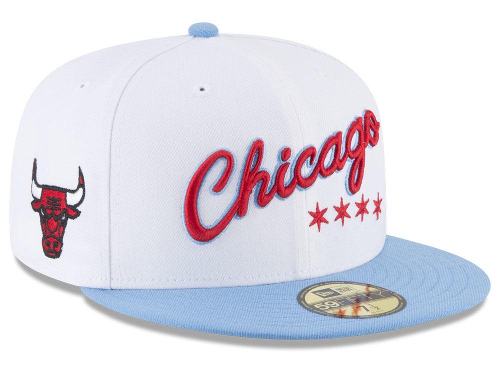 Chicago Bulls New Era NBA City Series 59FIFTY Cap  67839e513cb