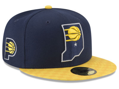 Indiana Pacers New Era NBA City Series 59FIFTY Cap