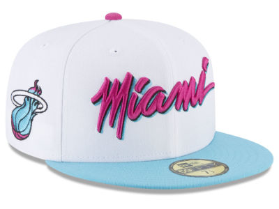 Miami Heat New Era NBA City Series 59FIFTY Cap