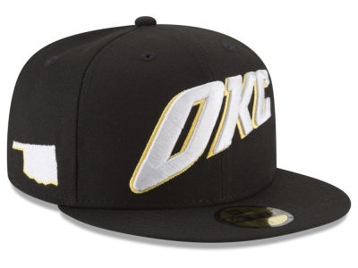 Oklahoma City Thunder New Era NBA City Series 59FIFTY Cap