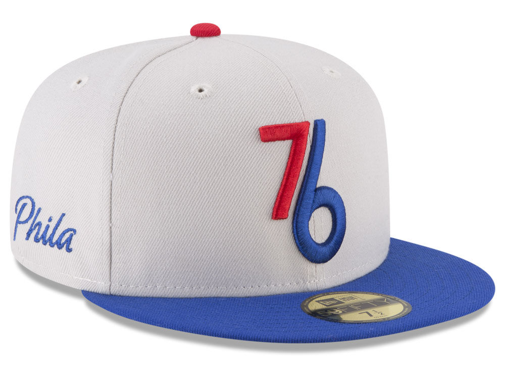 Philadelphia 76ers New Era NBA City Series 59FIFTY Cap  982c4fe2ed1
