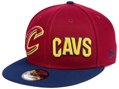 Cleveland Cavaliers New Era NBA Double Whammy 9FIFTY Snapback Cap