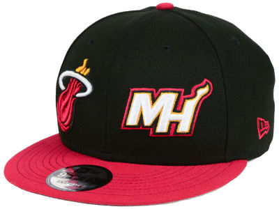 Miami Heat New Era NBA Double Whammy 9FIFTY Snapback Cap