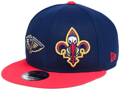 New Orleans Pelicans New Era NBA Double Whammy 9FIFTY Snapback Cap