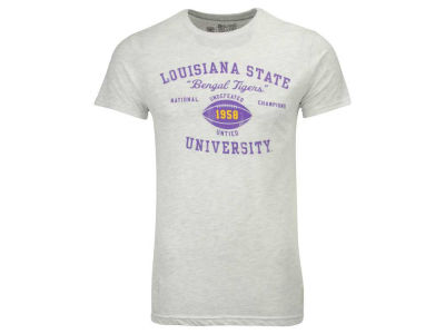 LSU Tigers Retro Brand NCAA Men's Undefeated National Champ Vault T-Shirt