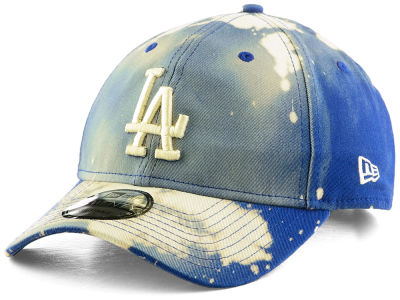 Los Angeles Dodgers New Era MLB Bleached Out 9TWENTY Cap
