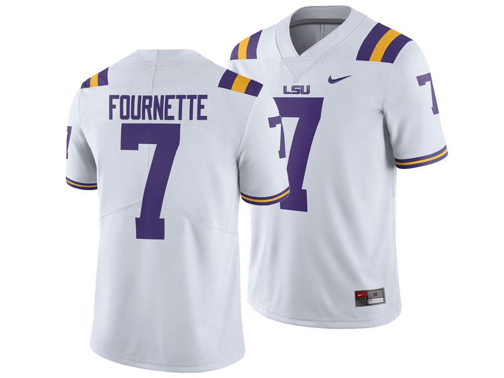 LSU Tigers Leonard Fournette Nike NCAA Men s Player Game Jersey. Top. LSU  ... 59ce98b46
