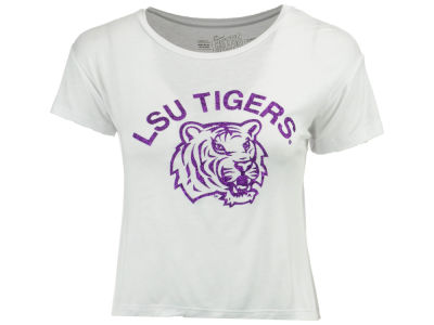 LSU Tigers Retro Brand NCAA Women's Rayon Vintage T-Shirt