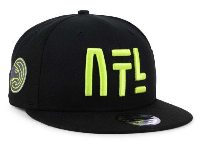 Atlanta Hawks New Era NBA City Series 9FIFTY Snapback Cap
