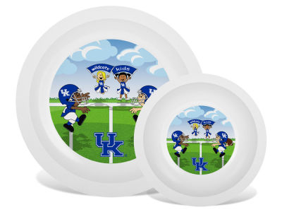 Kentucky Wildcats Plate & Bowl Set