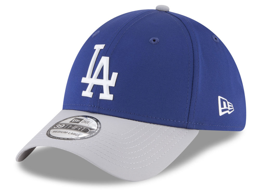Los Angeles Dodgers New Era MLB Batting Practice Prolight 39THIRTY Cap  94a2f2d03a03