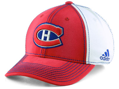 Montreal Canadiens adidas NHL 100th Structured Flex Cap 2fc1ac6160c4