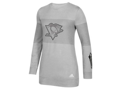 Pittsburgh Penguins adidas NHL Women's Inside Logo Outline Sweatshirt