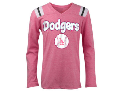 Los Angeles Dodgers 5th & Ocean MLB Girls Longsleeve Retro T-Shirt