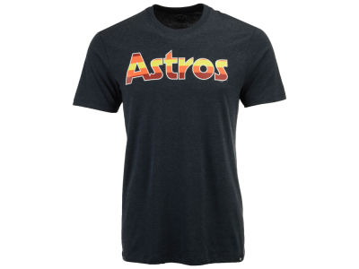 Houston Astros '47 MLB Men's Club Coop Script T-Shirt