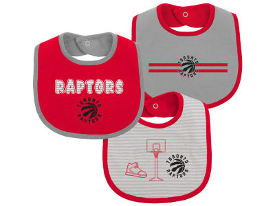 Toronto Raptors NBA Fair Shot 3-Piece Bib Set
