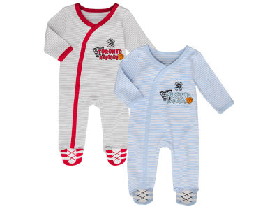 Toronto Raptors Outerstuff NBA Newborn Sunday Best 2-Piece Coverall Set