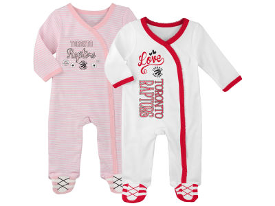 Toronto Raptors Outerstuff NBA Newborn 2nd Half 2 Piece Coverall Set