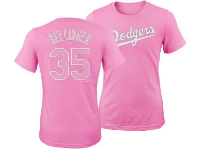 Los Angeles Dodgers Cody Bellinger Majestic MLB Girls Player T-Shirt