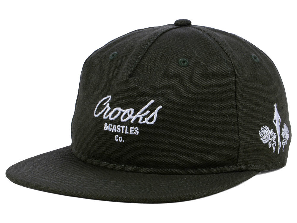 Crooks   Castles Script Unstructured Snapback Cap 673694609d0