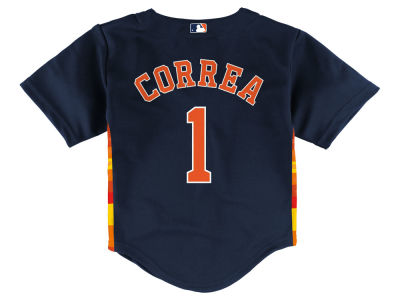Houston Astros Carlos Correa MLB Toddler Player Replica Cool Base Jersey
