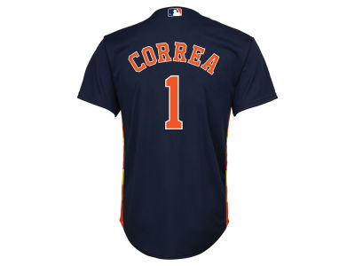 Houston Astros Carlos Correa MLB Kid's Player Replica Cool Base Jersey
